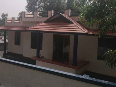 Independent House for Sale at Near Bala Bhadra Devi Temple, Manjakkad, Shornur.