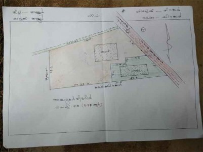 Residential Land with 2 Houses for Sale at Kannur City.