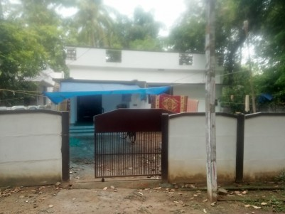 7 Cents of Land with 1000 Sq.Ft 2 BHK House for Sale at Adat, Thrissur.