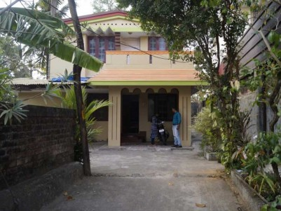 1500 Sq.Ft, 3 BHK House on 14 Cents of Land for Sale at Valiyavila,  Thirumala, Trivandrum.