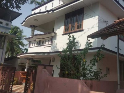 1400 Sqft Two storied house (3 BHK) on 4 Cents for Sale at Punnakkamukal, Thirumala, Trivandrum