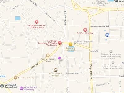 Residential / Commercial Land for Sale at the Prime Location of Thiruvananthapuram.