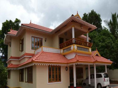 3000 Sq Ft 5 BHK Luxuary Villa on 30 Cents of Land for Sale at Cherupuzha, Kannur.