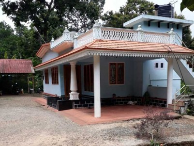 1 Acre Land with 4 BHK House (cardamom plantation) for Sale at Santhanpara, Idukki