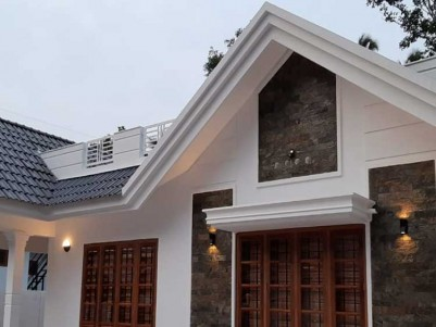 1600 SqFt, 3 BHK House on 10.5 Cent of Land for Sale at Bharanaganam, Pala