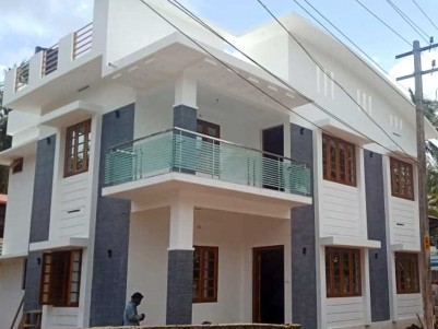 4 BHK, 2900 SqFt New House on 6 Cents for Sale at Mukkattukara, Thrissur