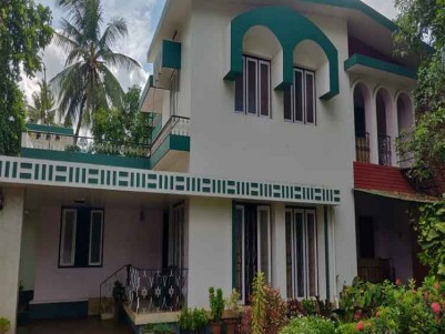 4 BHK Villa with 25 Cent Plot for Sale at East Fort, Thrissur.