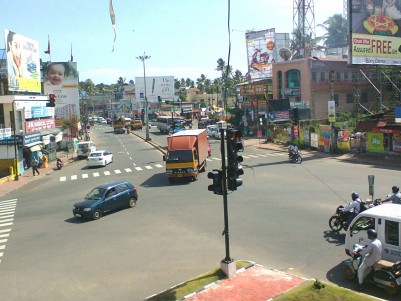 46.7cent Prime Commercial land for Sale At Ulloor Junction Trivandrum
