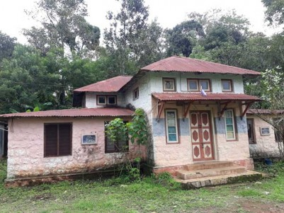 43 Cent Heritage type Building for Sale at Santhanpara, Idukki