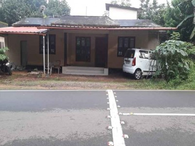 80 Cents of Land with an Old House for Sale at Erumely, Kottayam.