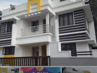 1300SQ.FT 3 BHK New House on 4 Cents of land for sale at Mulamthuruthy, Ernakulam.