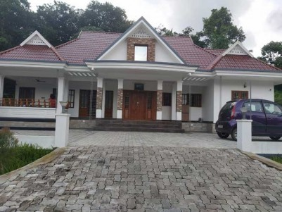 3600sq.ft Fully furnished Posh Villa on 40 cents of land for sale at Ettumanoor,Kottayam