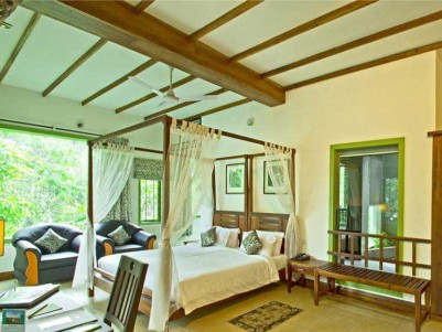 Resort with 7.5 Acer Cardmamm Plantation  for Sale at Thekkady