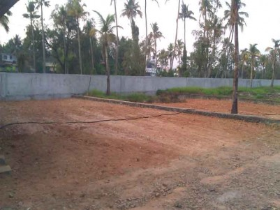 RESIDENTIAL PLOTS (8 to 10 cents) with Building Permit in Gated Compound for Sale at Aluva.