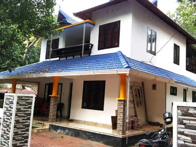 4 BHK, 2350 SqFt House on 7.5 Cent for sale at Kumaranellor, Kottayam