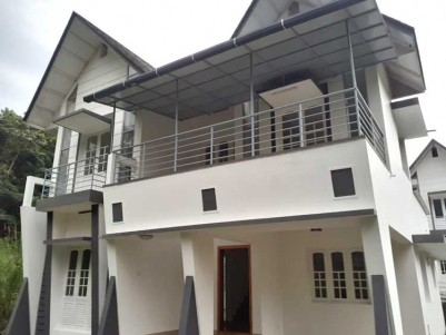 New 3 BHK, 1500 SqFt Villa on 4 cent for Sale at Thiruvamkulam