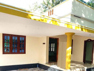 3 BHK Independent House on 7 Cents of Land for Sale at Vettilathazham, Kollam.