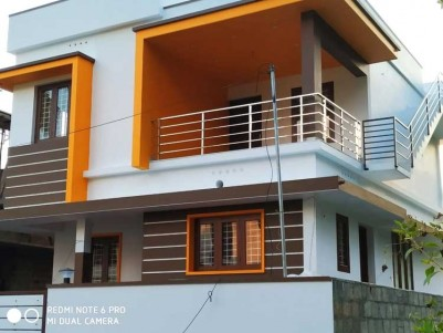 3 BHK, 1400 SqFt House on 3 Cents of Land for Sale at Puthiyakav, Tripunithura