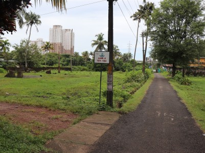 River Facing Plot for Sale Opposite Vytila Hub and Metro Station.