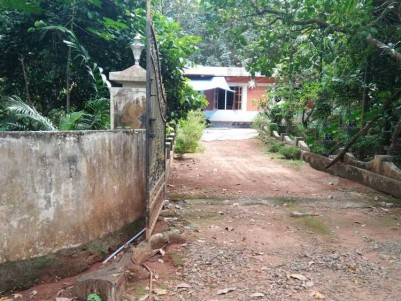 77 Cent Residential Land with Old House for sale at Thekkumbhagam, Thodupuzha, Idukki