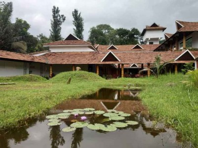 Fully Functioning Premium Resort for Sale at Thekkady, Idukki.