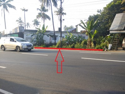 Commercial Land ( Square Plot ) for Sale at Okkal, Facing MC Road, Kalady.