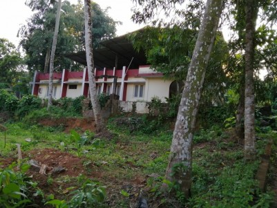 16 Cents of Land with 2000 Sq Ft House for Sale at Njekkuvally, Kuttapuzha, Thiruvalla.