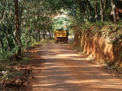 1 Acres of Residential land with Coconut yielding property for sale at Chempanoda, Kozhikode