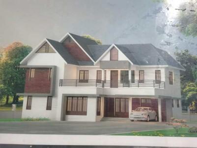 2950 SqFt, 4 BHK New House on 10 Cents for sale at Kanakkari Junction - Ettumanur - Kottayam
