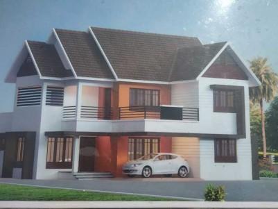2850 SqFt, 4 BHK New House on 9 Cents for sale at Kanakkari Junction - Ettumanur - Kottayam