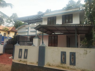 4 BHK, 2000 SqFt New House in 9.75 cents for sale at Kismath Junction, Eattumanoor, Kottayam