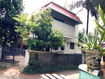 6 cents of Land with a Single storey House for Sale at Chembukavu, Thrissur.