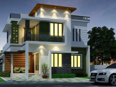 7 cent land with 1700 sqft New House for sale at Muriyad, Thrissur