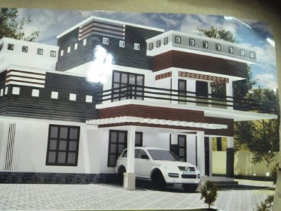 5 BHK, 2800 SqFt Beautiful House in 10 Cent for sale at Ponkunnam road, Pala