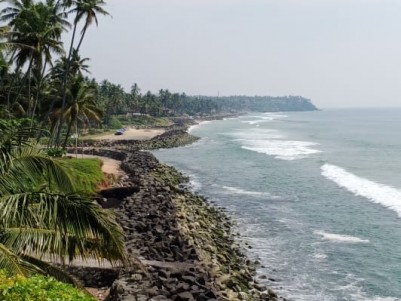 Beach Frontage Resort for sale at Varkala, Trivandrum