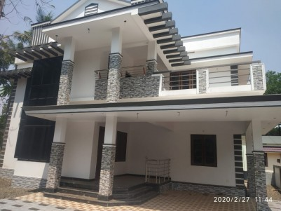 4 BHK New House for sale near Muttuchira junction, Kottayam