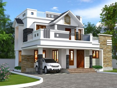 4 BHK, 1900 SqFt House in 5.5 Cent for sale at  Kakkanad, Pallikkara, Ernakulam