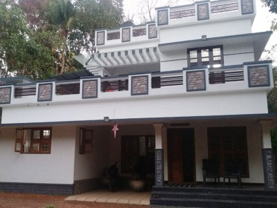 18 Cent land with 2320 SqFt, 4 BHK House for sale near Chingavanam, Kottayam
