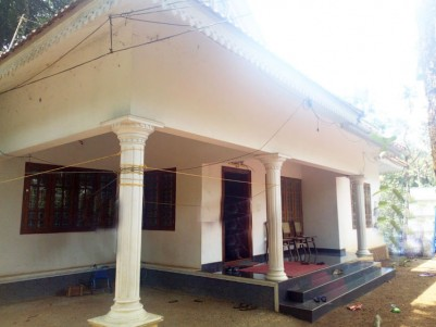 12.5 Cent land with 1600 SqFt, 3 BHK House for sale near Puthupally, Kottayam