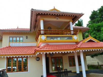 30 Cent land with Fully furnished 3000 SqFt 2 Storey House for sale at Payyannur, Kannur