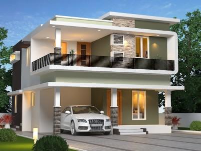 4 Cent- 4 BHK Duplex House near Ottapalam