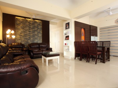 Fully furnished,3BHK,1687 Sq.Ft ready to occupy luxury apartment for Sale, at the heart of Kozhikode