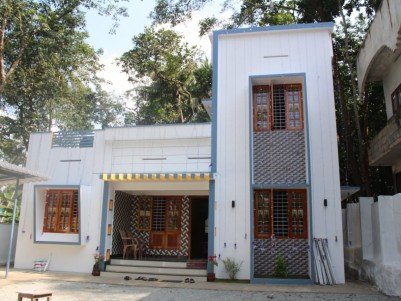 1400 SqFt  House  &  450 SqFt  Shop in 15 Cents for Sale at Trivandrum