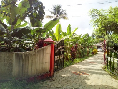 70 cent land with old house for sale near Kaithepalam Puthupally