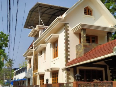 4BHK,4500SqFt House in 8 Cents  for sale  near Hill Palace,Tripunithura