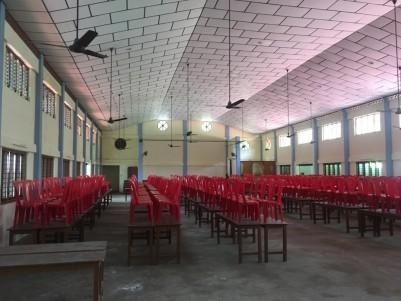 12000 SqFt Auditorium in 3 Acres for Sale near Nedumkunnam, Karukachal,Kottayam