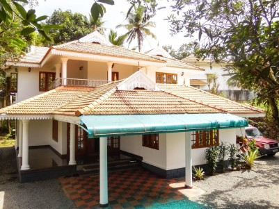 Double-Storey Fully Furnished Villa for sale at Alampally,Pampady,Kottayam