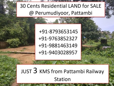 30 Cents Land for sale  at a Prime Location - Pattambi,Palakkad