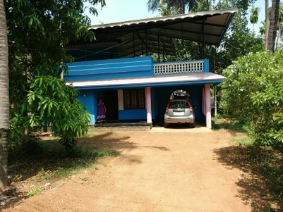 2 BHK 1200 SqFt  House in 43.5 Cents for sale at Mala,Thrissur