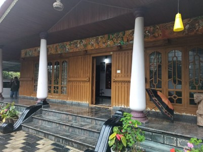 Luxury Bungalow with 7 Acres of Cardamom plantation for Sale at Udumbanchola, Idukki
